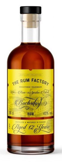 The Rum Factory 12y 0,7l 43%