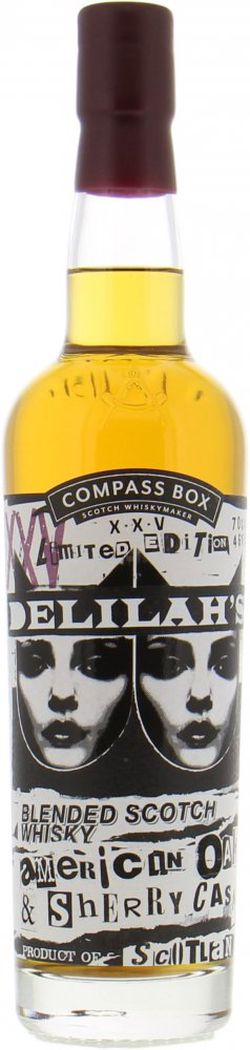 Compass Box Delilah Whisky 0,7l 46%
