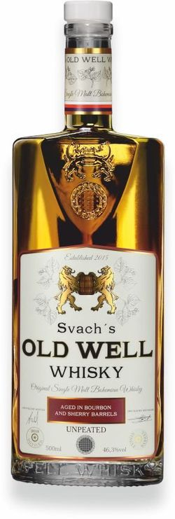 Svach's Old Well Whisky Sherry 0,5l 46,3% GB