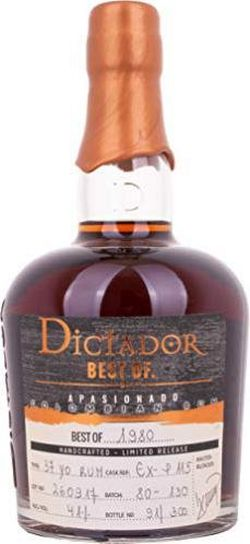 Dictador The Best of 37y 1980 0,7l 41% L.E. / Rok lahvování 2019