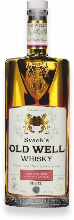 Svach's Old Well Whisky Porto 0,5l 46,3% GB