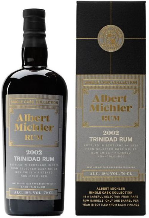Albert Michler Single Cask Trinidad 18y 0,7l 48% GB / Rok lahvování 2020
