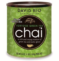 David Rio Tortoise Green Tea Chai 1814g