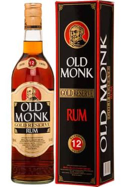 Old Monk Gold Reserve 12y 0,7l 42,8% GB