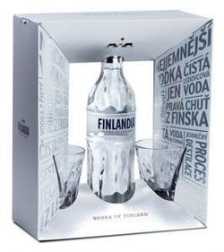Vodka Finlandia 0,7l 40% + 2x sklo GB 2020