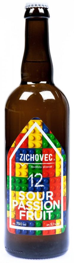 Zichovec Sour Passion Fruit 12° 0,75l 5,1%