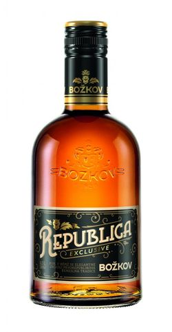 Božkov Republica Exclusive 8y 0,5l 38%