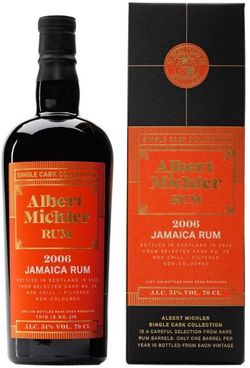 Albert Michler Single Cask Jamaica 14y 2006 0,7l 51% GB / Rok lahvování 2020