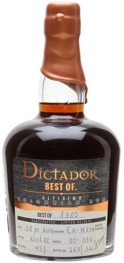 Dictador The Best of 38y 1980 0,7l 41% L.E.