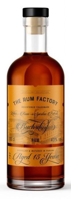 The Rum Factory 15y 0,7l 43%