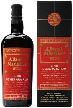 Albert Michler Single Cask Demerara 10y 2010 0,7l 45% GB / Rok lahvování 2020