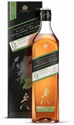 Johnnie Walker Black Label Lowlands Origin 12y 1l 42%