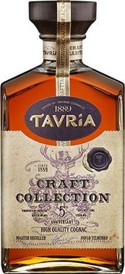 Brandy Tavria Craft Collection VSOP 5y 0,5l 40%
