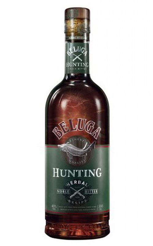 Beluga Hunting Herbal Dessert Liqueur 0,7l 40%