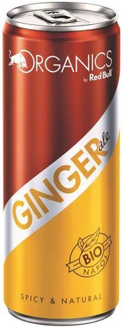 Organics Ginger Ale by Red Bull 0,25l