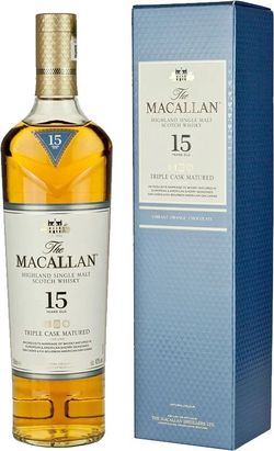 Macallan Triple Cask Matured 15y 0,7l 43%